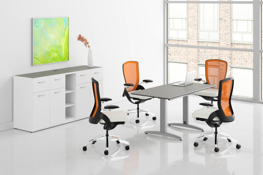 Image of: Contemporary Conference Tables Small