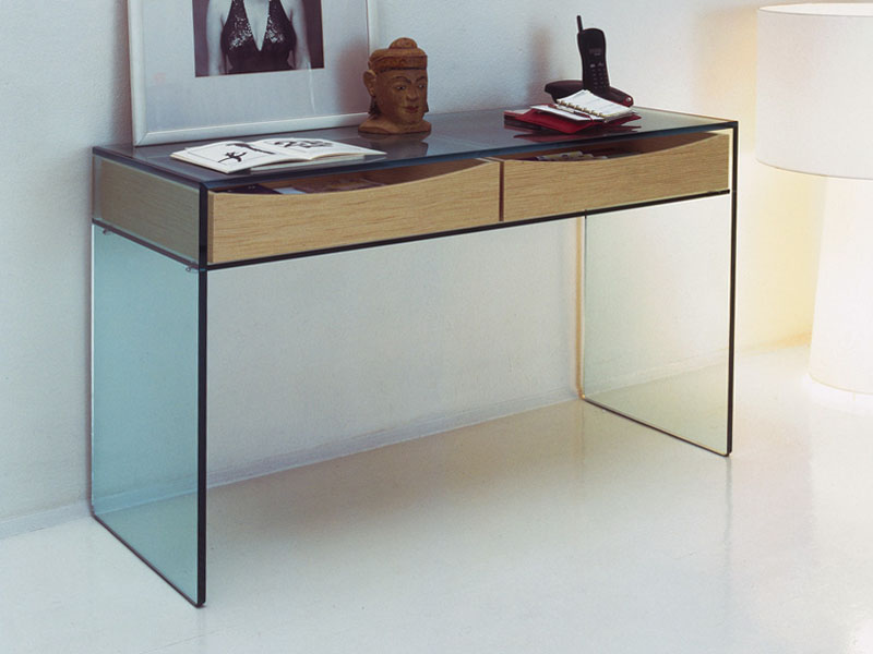 Picture of: Contemporary Console Tables Glass