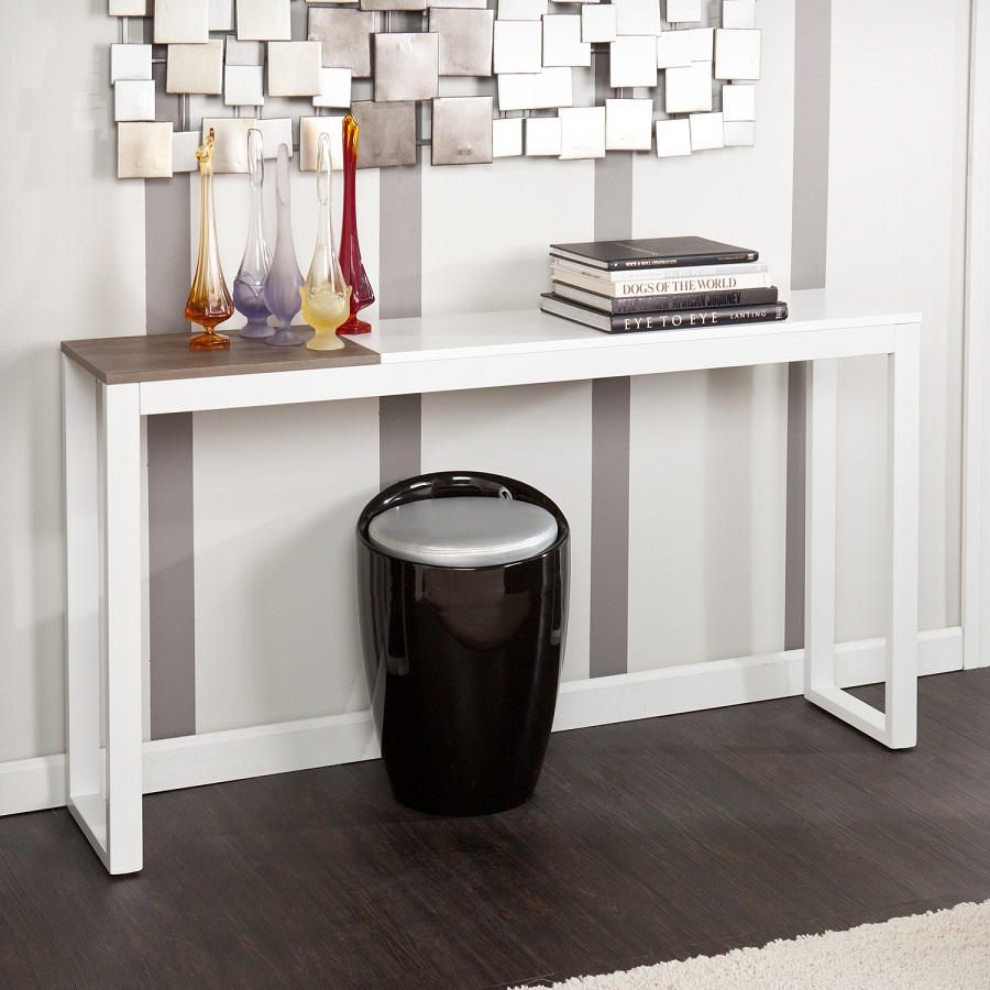 Picture of: Contemporary Console Tables White