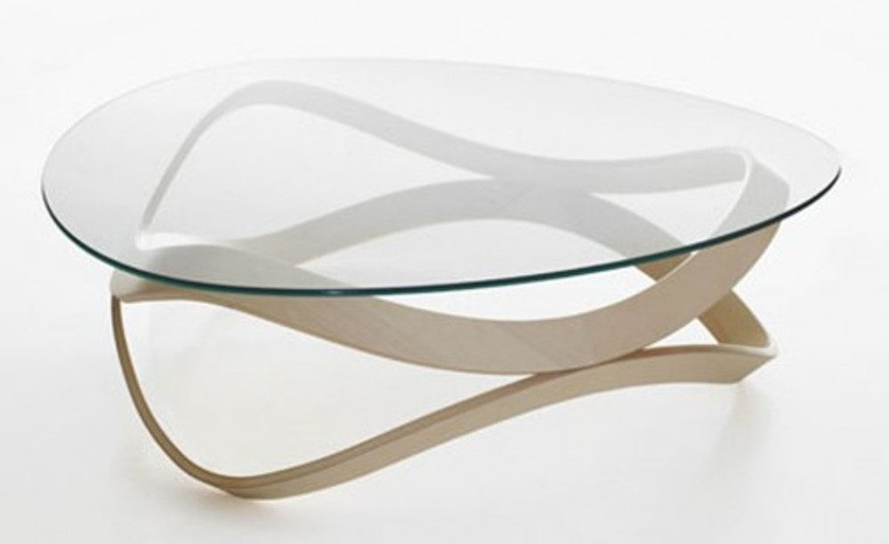 Image of: Contemporary Glass Coffee Table Sets