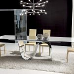Contemporary Glass Dining Table And Chairs