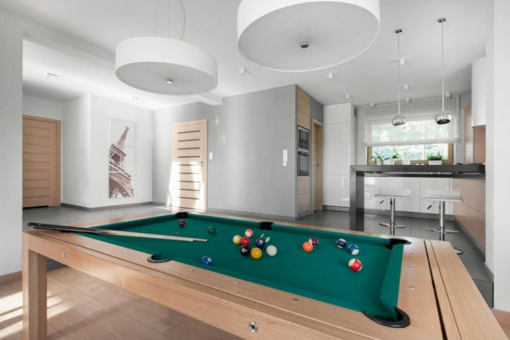 Picture of: Contemporary Pool Table Lights Decorations