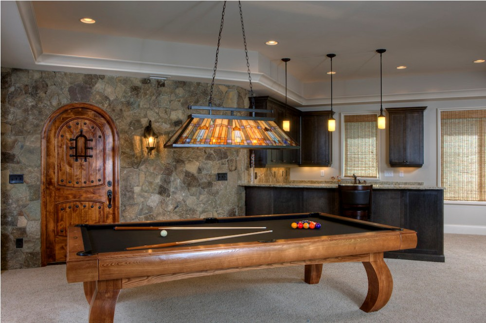 Image of: Contemporary Pool Table Lights for Kids
