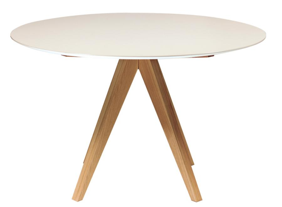 Image of: Contemporary Round Dining Table Designs