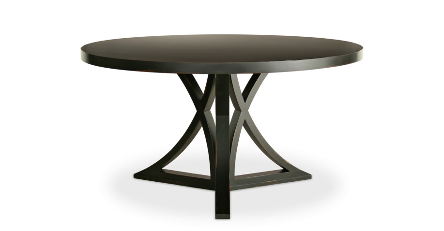 Contemporary Round Dining Table Paint