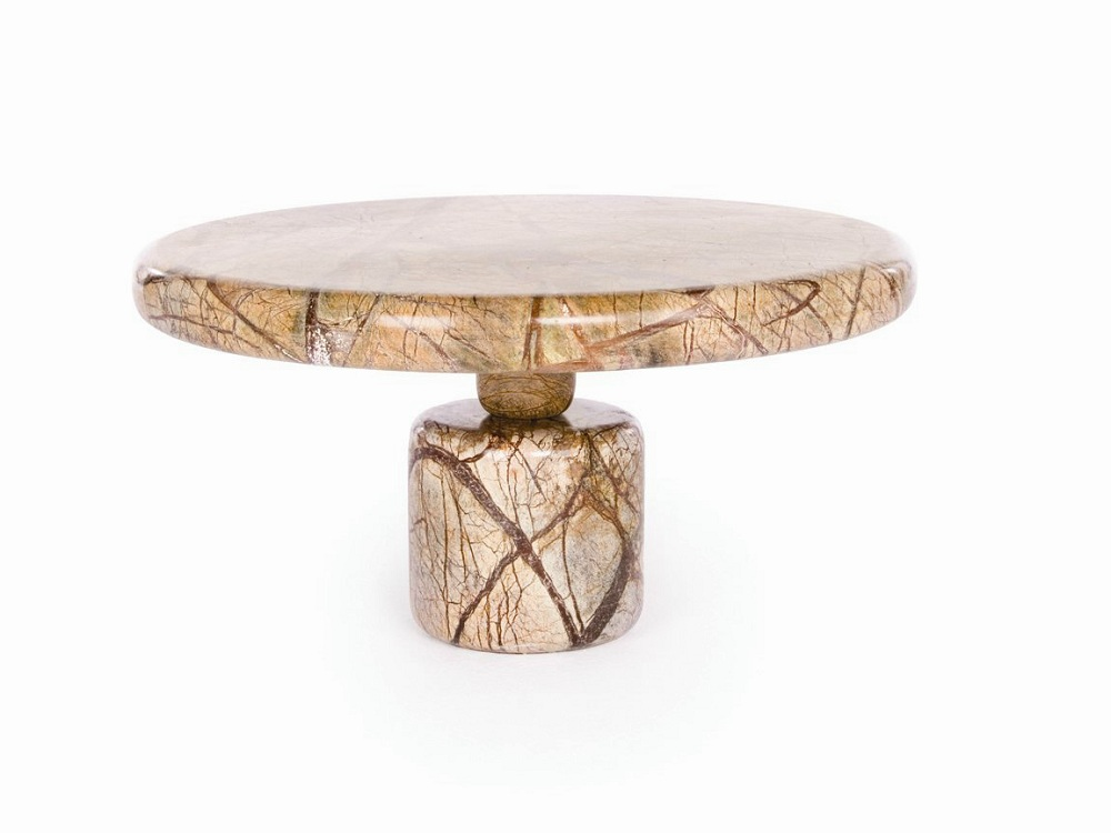 Image of: Contemporary Round Marble Coffee Table