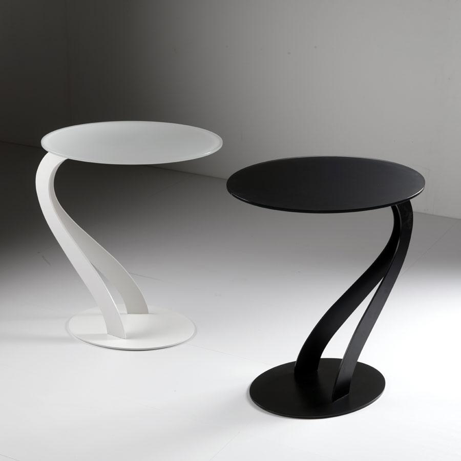 Contemporary Side Tables Round Shapes