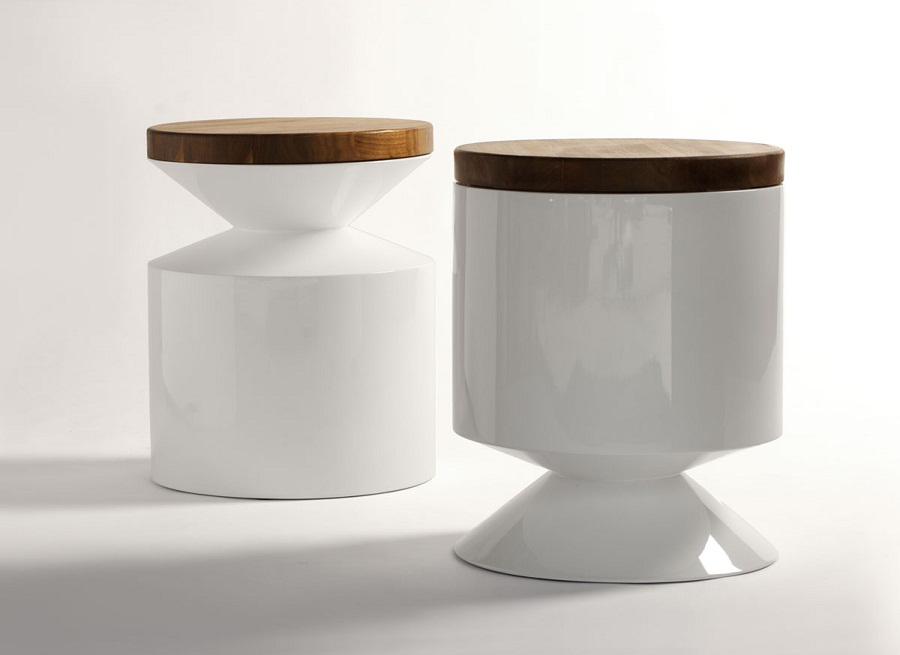 Image of: Contemporary Side Tables Round