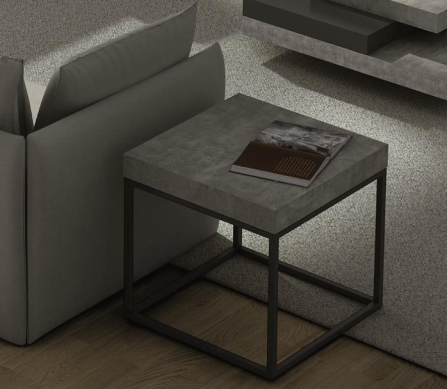 Image of: Contemporary Side Tables Square