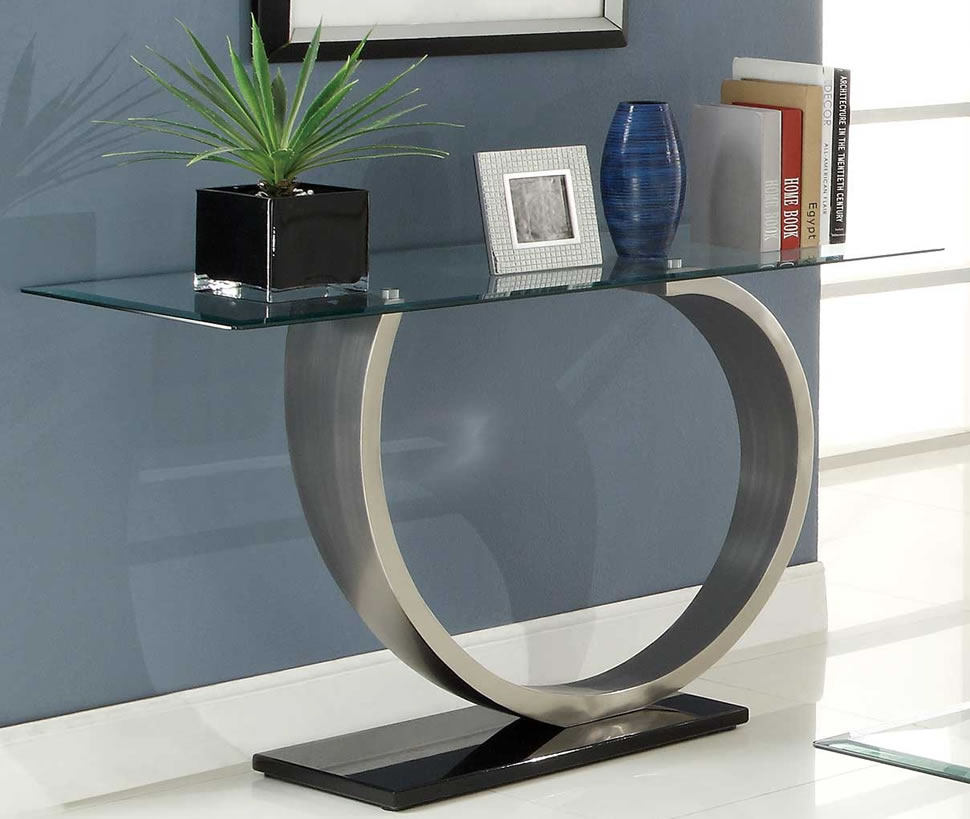 Image of: Contemporary sofa tables for decoration
