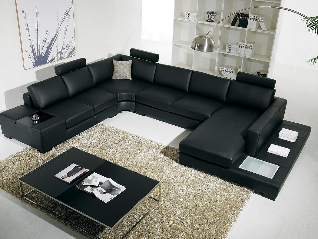 Image of: Contemporary sofa tables for living room