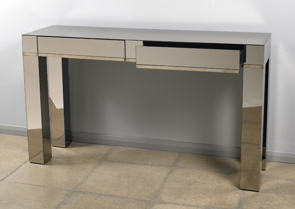 Contemporary Sofa Tables With Drawer