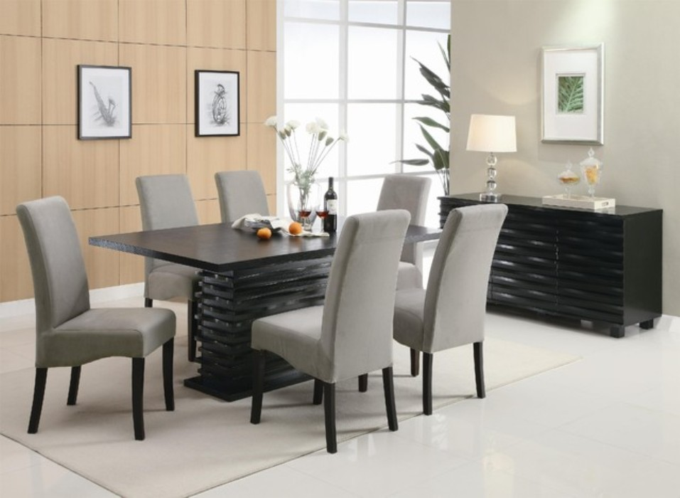 Dining Tables Contemporary Black Counter