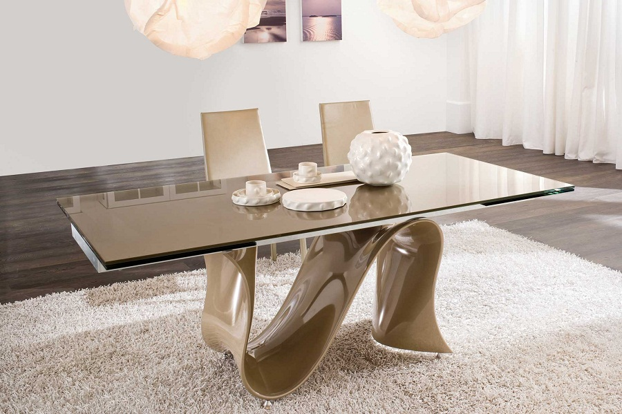 Picture of: Glass Contemporary Dining Table Sets