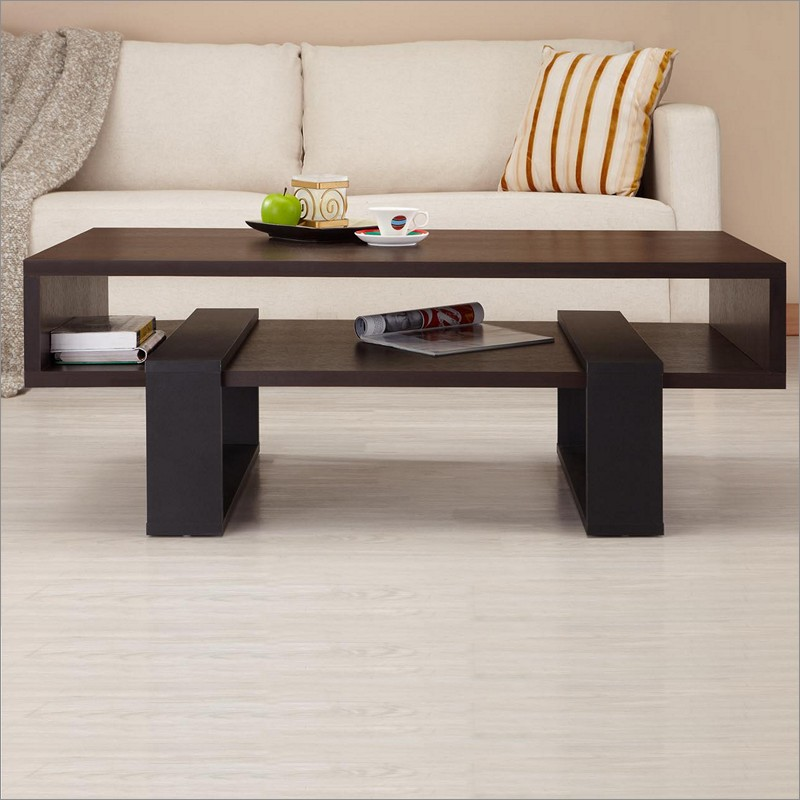 Picture of: Modern Rectangle Coffee Table