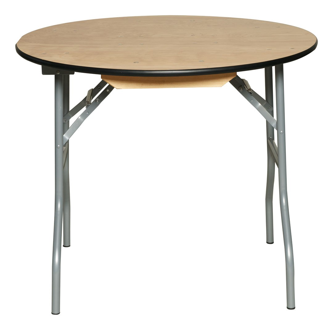 Image of: Round Banquet Tables Metal