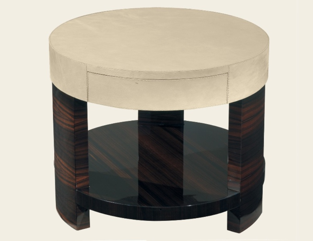 Picture of: Round Contemporary Bedside Tables