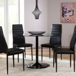 Round Contemporary Dining Table Design