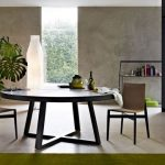 Round Contemporary Dining Table Popular