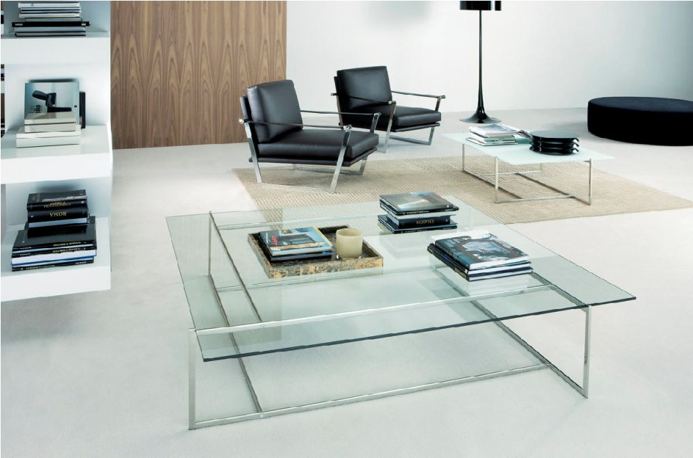 Picture of: Round Contemporary Glass Coffee Tables