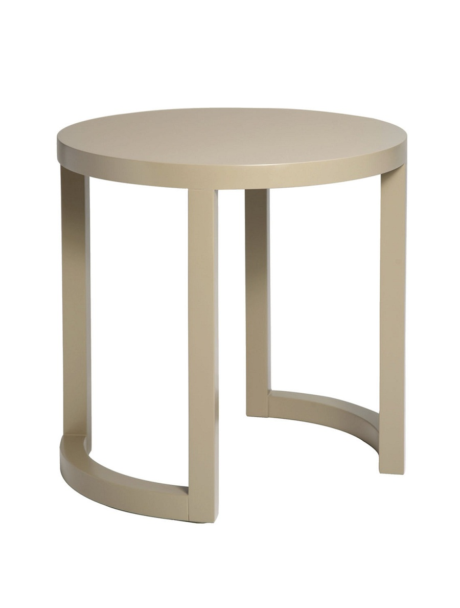 Round Contemporary Side Tables
