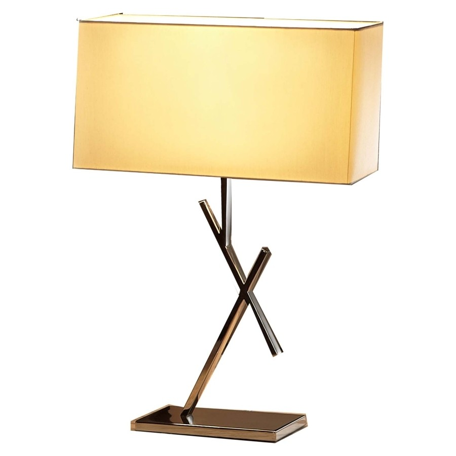 Picture of: Square contemporary table lamp