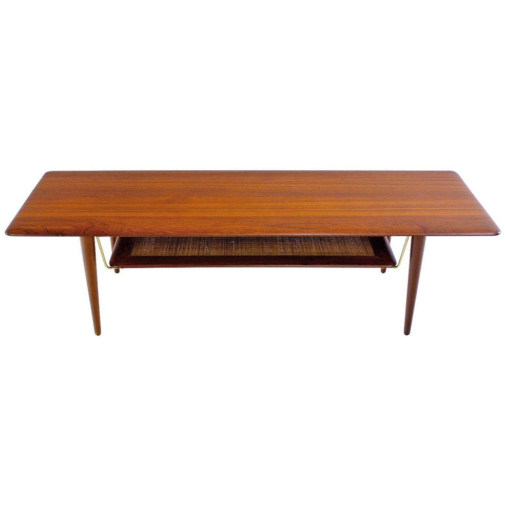 Teak Contemporary Cocktail Tables