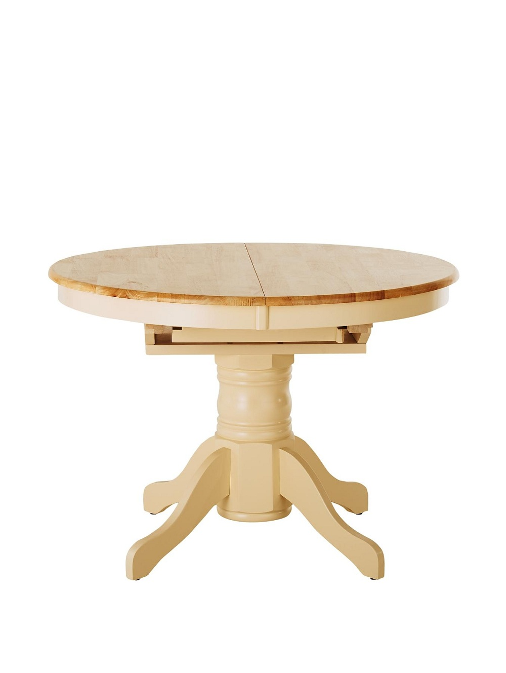 Picture of: Wonderful Round Extension Dining Table