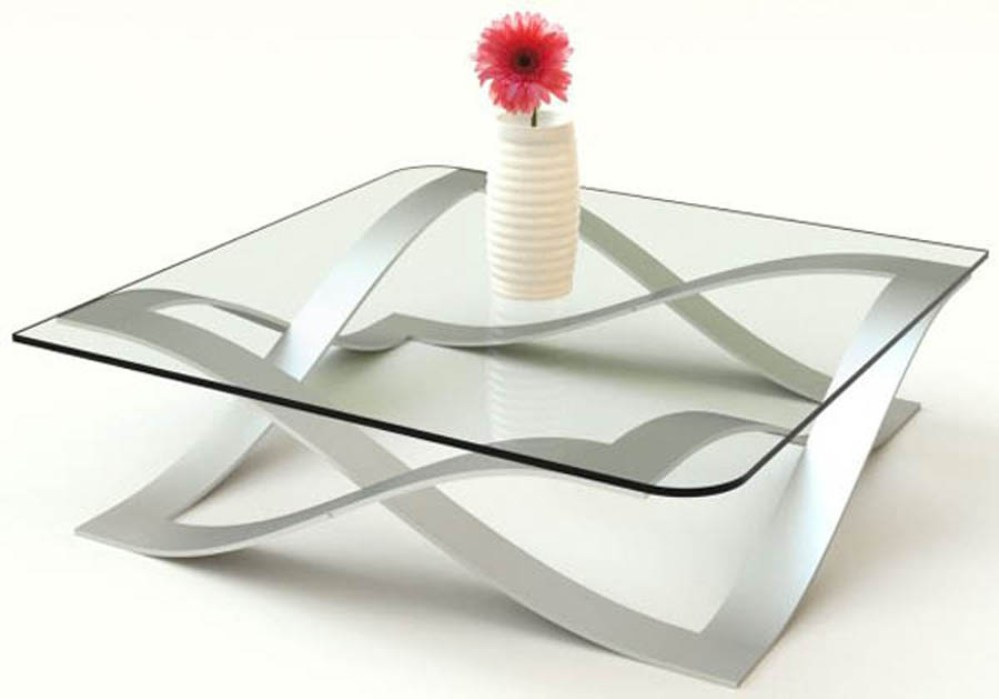 All Glass Contemporary Glass Coffee Tables