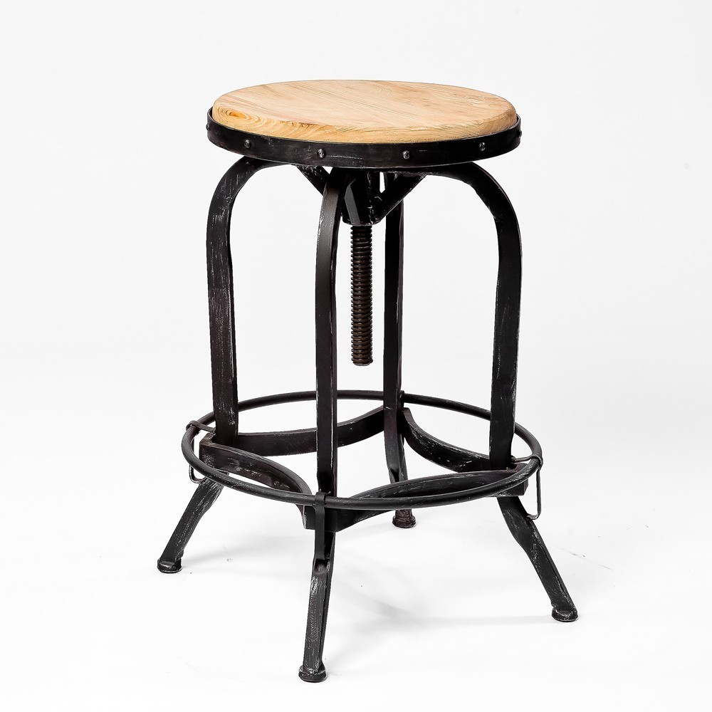 Picture of: Adjustable Bar Stool  Picture