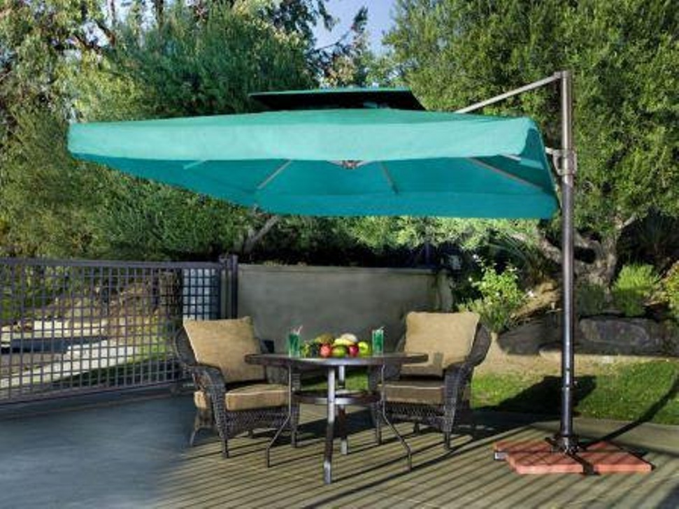 Picture of: Affinity Patio Umbrella Side Table