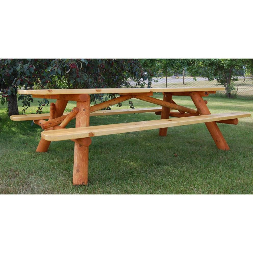 Picture of: Amazing Cedar Picnic Table