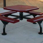 Awesome Metal Picnic Tables