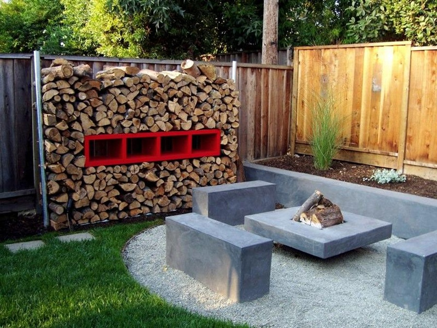 Picture of: Backyard Ideas Diy Fire Pit Table