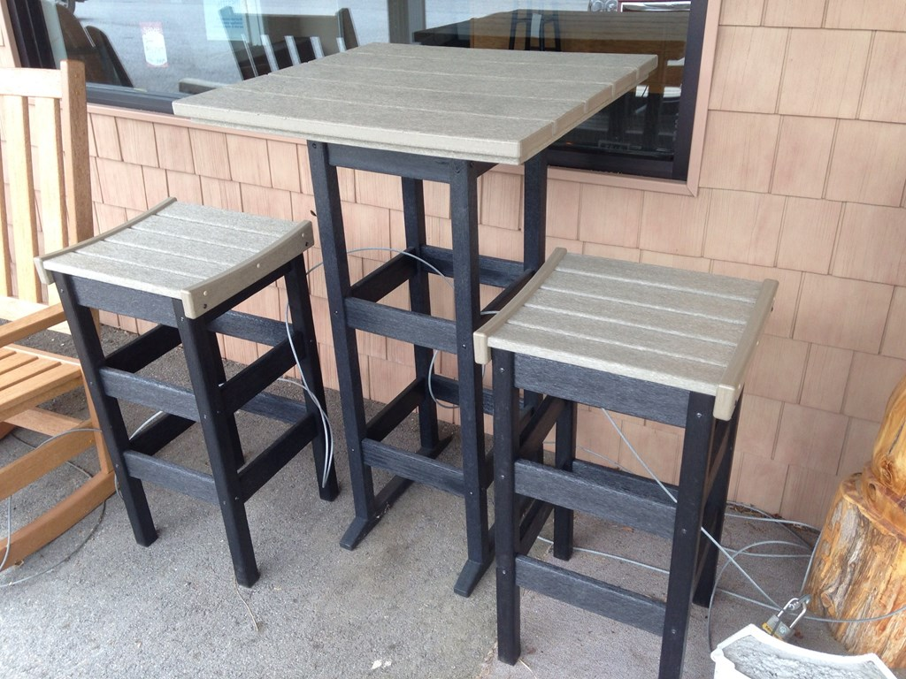 Image of: Bar Height Patio Table Set Designs