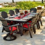 Bar Height Patio Table Set Dining