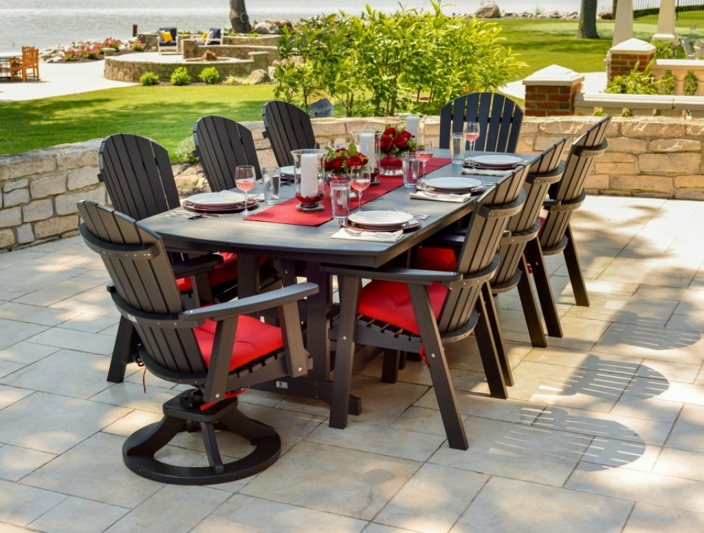 Image of: Bar Height Patio Table Set Dining