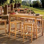 Bar Height Patio Table Set Material