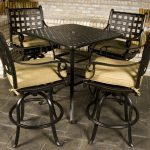 Bar Height Patio Table And Chairs Designs