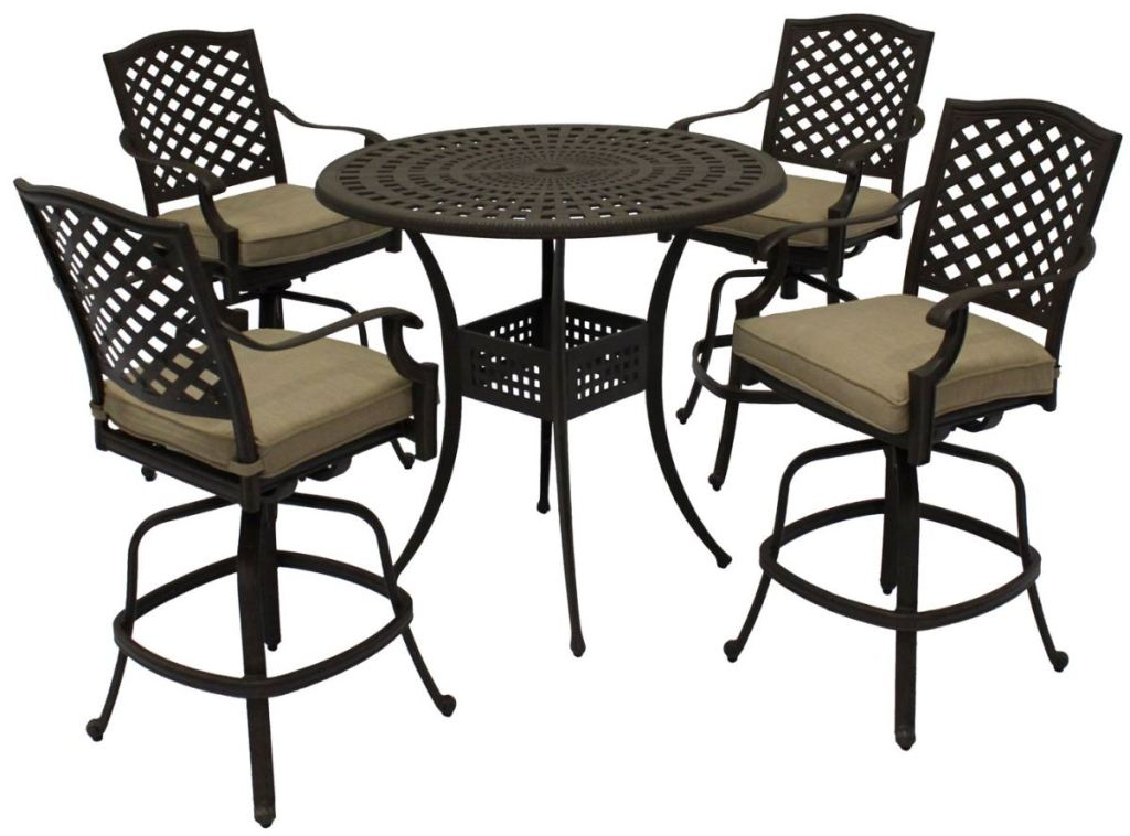 Picture of: Bar Patio Table and Chairs