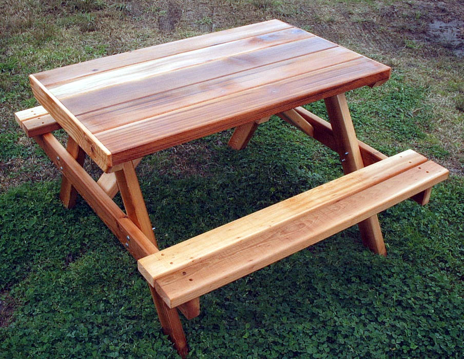 Picture of: Best Cedar Picnic Table