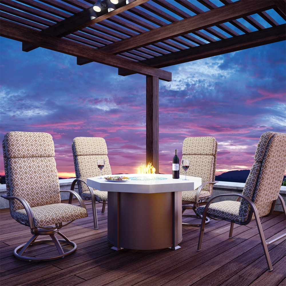 Picture of: Best Firepit Dining Table