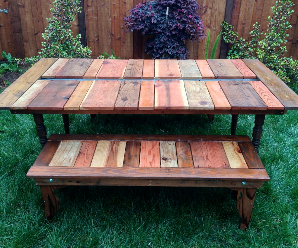 Picture of: Best Pallet Picnic Table Idea