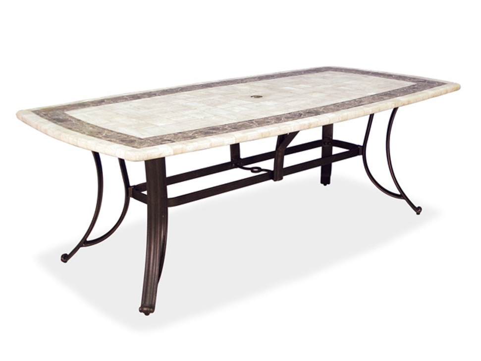 Image of: Best Rectangular Patio Dining Table