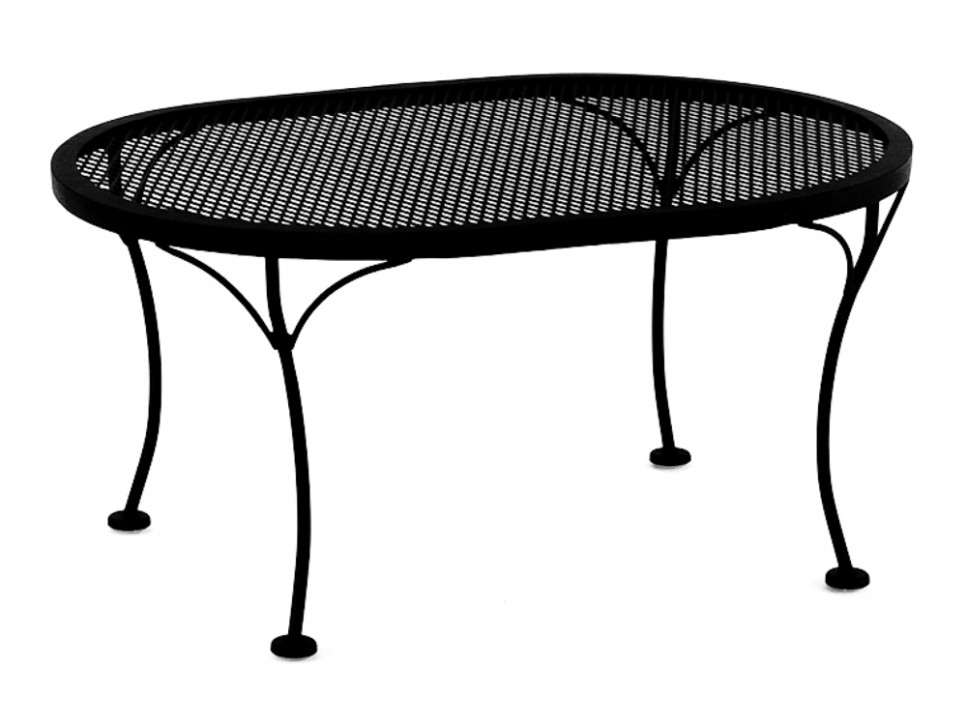 Picture of: Best Wrought Iron Patio Coffee Table