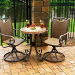 Bistro Patio Table And Chair Bar Height Ideas