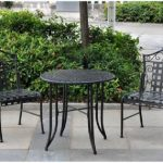 Bistro Patio Table And Chair Umbrella