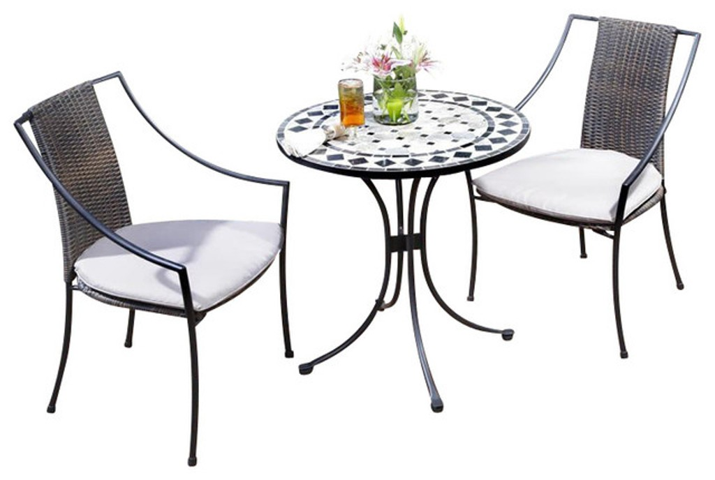 Picture of: Bistro Patio Table and Chair for Desk