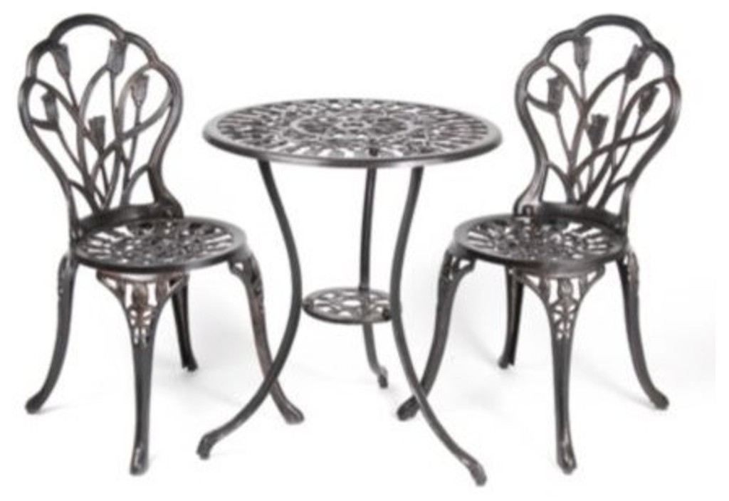 Image of: Bistro Patio Table and Chairs for Home