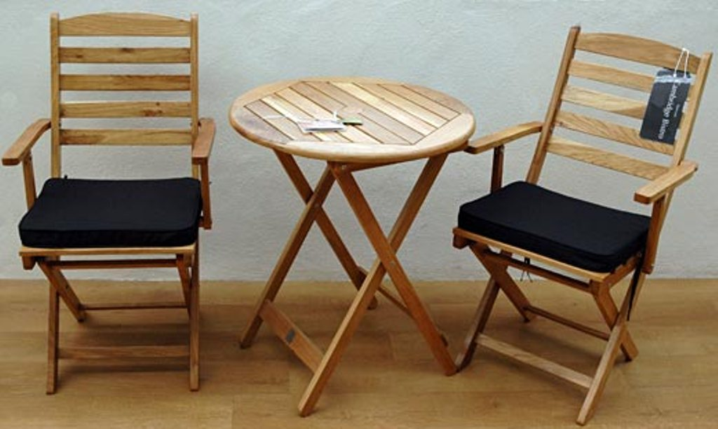 Picture of: Bistro Patio Table and Chair for Living Room
